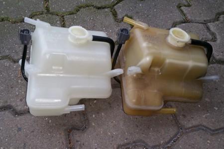 Projekt RX-8: Kühlmittelbehälter tauschen.